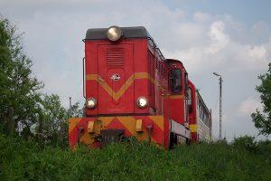Lxd2-343 wyjeżdża w kierunku Witkowa.