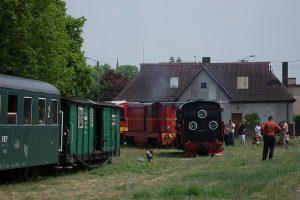 Manewry na stacji w Powidzu.