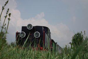 Fotostop na łuku w pobliżu wsi Charbin.
