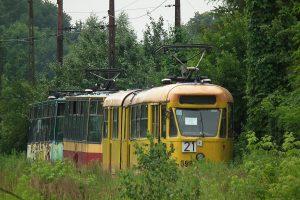 Zajezdnia Helenówek - wagony KMST, pierwszy #5963.