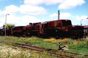 Parowozy Ty43-108, Ty43-13 oraz Ty43-111.
