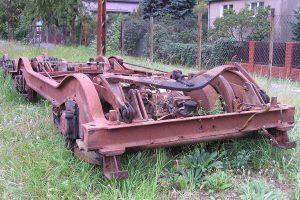 Wózek wagonu silnikowego typu N.
