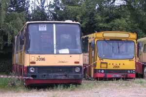 Ikarus #2096 i Mig #2904.