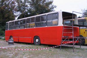 Ikarus #506 z MZK Pabianice.