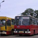 Ikarus #RV01 i Jelcz M11 #342 z MKS Skarżysko-Kamienna.