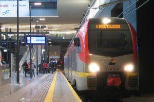 Stadler FLIRT #2 140 371-7 jako pociąg Ł11507do Koluszek.