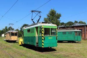 Techniczne wagony N - pługi #92031 i #108 oraz #101.