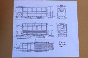 Schemat wagonów U104.