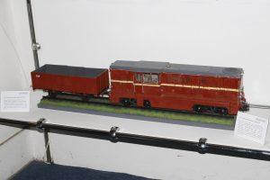 Model lokomotywy wąskotorowej Lxd2.