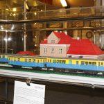 Diorama stacji Klarysew.