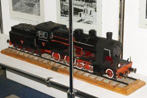 Model parowozu Tr21.