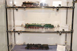 Modele parowozów Ty37, Pu29 i Ty23.