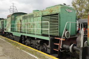 Lokomotywa spalinowa SM41-190.