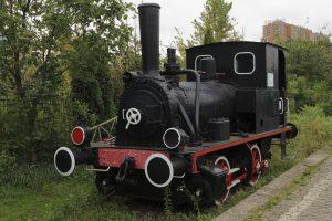 Parowóz TKb3-129.