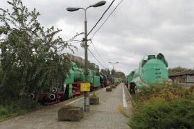 Stacja Muzeum – dawne Muzeum Kolejnictwa w Warszawie.