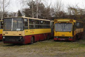 Przeznaczone do kasacji - Jelcz M11 #2904 oraz Ikarus 280 #2096.