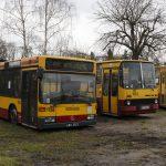 Przeznaczone do kasacji -Mercedes O405N #1756 oraz Ikarus 280 #1553 (oba sprawne!!!).