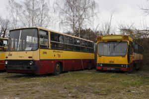 Kasacyjne - Ikarus 260 #2096 i Jelcz M11 #2904.