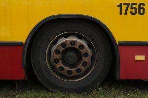 Przeznaczony do kasacji sprawny Mercedes O405N.