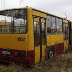 Przeznaczony do kasacji sprawny Ikarus 280 #1553.