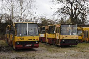 Ikarus 280 #1553 i Ikarus 280 #2096.