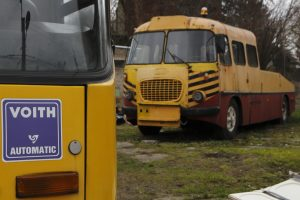Ikarus 280 #RV51 i Jelcz ogórek.