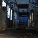 Wnętrze wagonu Konstal 5N #100.