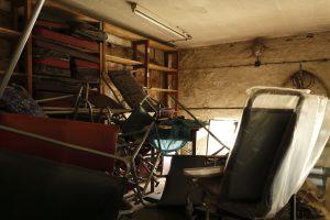 Siedzenia z Helmutów GT6 #47 i zachowanego #42.