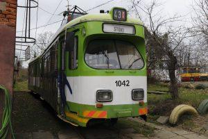 """""""Dziadek"""" - Düwag GT6 #42."""