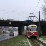 Zgierz, Łódzka - fotostop pod wiaduktem kolejowym.