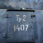 Parowóz Ty2-1407. Widoczne niemieckie numery.