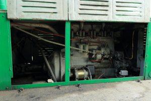Silnik lokomotywy Ls40-4572.