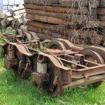 Wózki wąskotorowe z wagonów znormalizowanych.